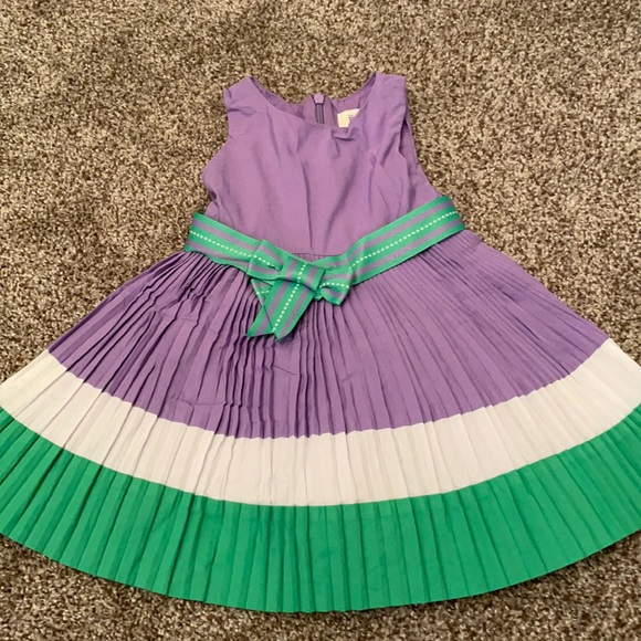 NWOT spring pleated dress 👗- 18 months